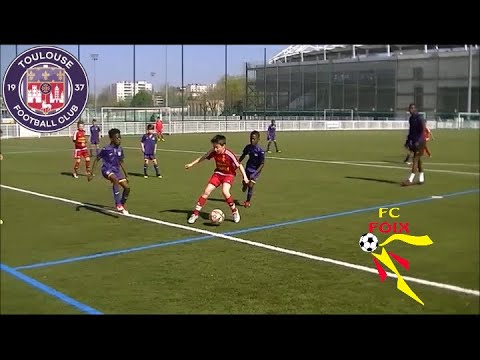 vidéo - Matchs amicaux TFC U10 vs Fc Foix U11 -    - club