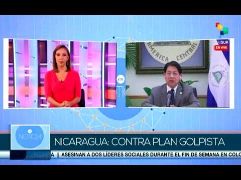 Entrevista del Canciller de Nicaragua en Telesur