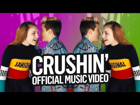 Crushin ft. Piper Rockelle | Gavin Magnus (Official Video) First Kiss?