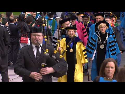 2018 Case Western Reserve University Commencement Convocation Ceremony