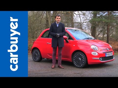 Fiat 500 hatchback 2016 review