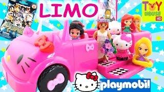 HELLO KITTY PARTY LIMO! Playmobil Blind Bag Wedding?
