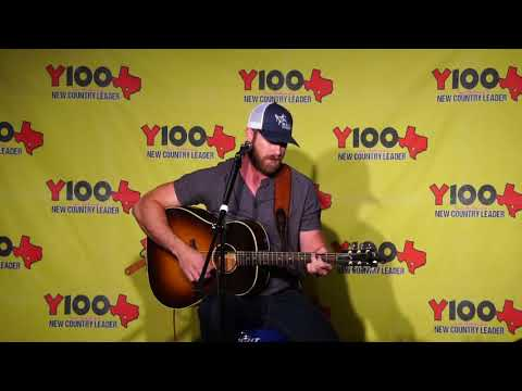 "Riley Green ""Georgia Time"" acoustic Live at Y100 August 16, 2018"