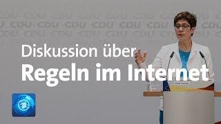 Nach Wahlaufruf von YouTubern: Kramp-Karrenbauer löst Diskussion aus