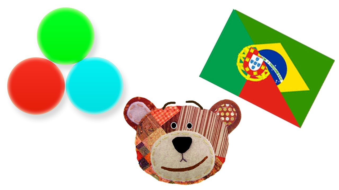 Aprende los colores con Traposo en portugués