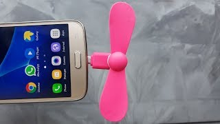 Mini usb fan for andriod smartphone