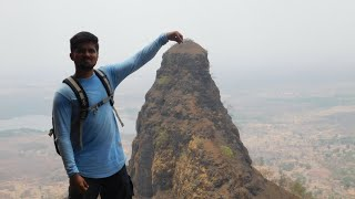 Gorakhgad, one of the toughest hikes of Maharashtra, completed in summer.