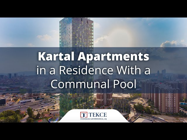 Sea, Island and City View Properties in Kartal Istanbul