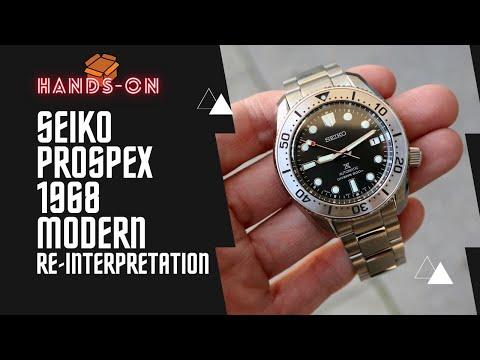 SEIKO PROSPEX 1968 MODERN RE-INTERPRETATION SPB185J1