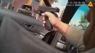 شاهد: مطاردة وإطلاق نار بين شرطة ومشتبهين بهم في لاس فيغاس…