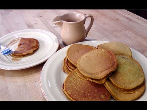 Homemade Pumpkin Pancakes from Scratch Recipe – Laura Vitale – Laura In The Kitchen Episode 65