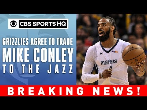 Mike Conley TRADED to Utah Jazz | BREAKING NEWS! | CBS Sports HQ