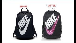 Adding Crystals to Book Bag- Nike Hayward Futura 2.0 Backpack