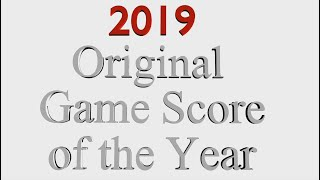 2019 Original Game Score of the Year