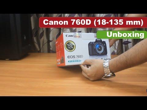 Canon 760D ( 18-135mm) DSLR | Un-boxing | India | Sample Images |