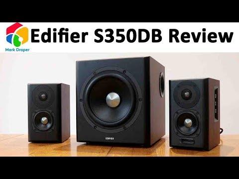Edifier S350DB 2.1 Bookshelf Speaker and Subwoofer Review