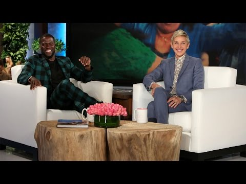 Kevin Hart Gets Sentimental and Talks Skinny-Dipping (видео)