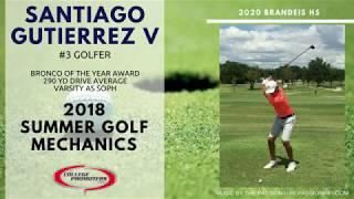 2018 Golf Mechanics