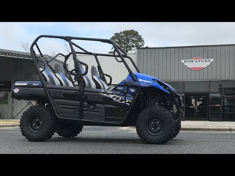2021 Kawasaki Teryx4 in Greenville, North Carolina - Video 1