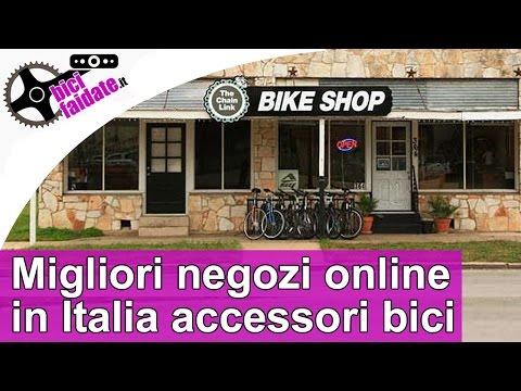 Migliori negozi online in Italia di accessori e ricambi bici