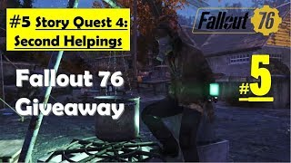 Fallout 76 - Second Helpings - Look for Delbert winters - Search training instructions
