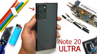 Samsung Galaxy Note20 Ultra Durability Test - What is Victus Glass?