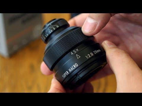 Weird lens reviews: Mitakon 20mm f/2 4.5x Super Macro Lens
