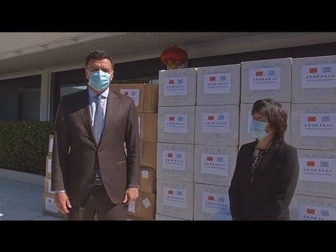 Β. Κικίλιας: Δύσκολες οι επόμενες εβδομάδες – 50.000 μάσκες από την πρέσβη της Κίνας