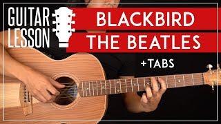 Blackbird Guitar Lesson 🎸 The Beatles Tutorial |Fingerpicking + TAB|