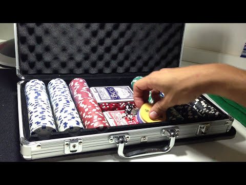 🔴MALETA DE POKER  e FICHAS DE POKER (mercadolivre) - Unboxing #25