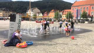 preview picture of video 'Cold Water Challange 2014 - Trachtenverein Roßecker Bruck/Mur - www.rossecker.at'