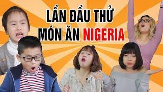 Khi người Việt Nam ăn món ở Nigeria (Châu Phi) | Cee Jay
