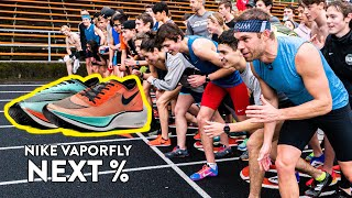 1 MILE RACE vs. Subscribers, Winner Gets Nike ZoomX Vaporfly NEXT%