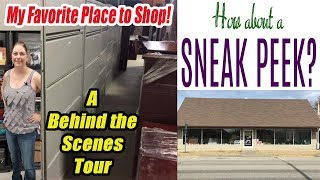 My favorite Place to Shop - A behind the scenes tour of my favorite Mom & Pop Warehouse