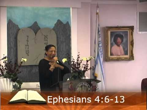 Evangelist Veronica Embry September 30, 2012 - Till We All Come to the Unity.mp4