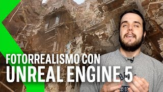 UNREAL ENGINE 5: ASÍ de ALUCINANTE se ve en PS5