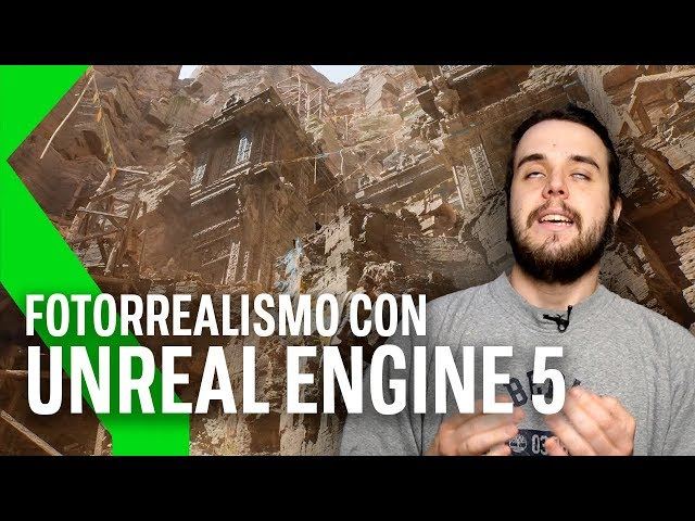UNREAL ENGINE 5: ASÍ de ALUCINANTE se ve en PS5