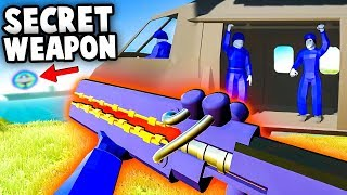 NEW Secret Uber Weapon, Secret Cutscene, Conquest Mode! (Ravenfield Secrets Gameplay)