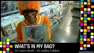DJ Lance Rock (Yo Gabba Gabba) - What's In My Bag?