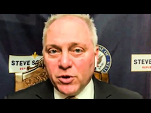 Steve Scalise CAUGHT Sharing Doctored Video
