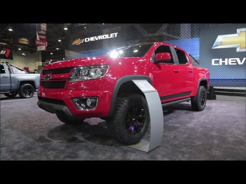 2016 Chevrolet Colorado Trail Boss 3.0 Concept - 2015 SEMA Show