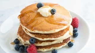 Easy Fluffy Pancakes Recipe – How to Make Pancakes from Scratch