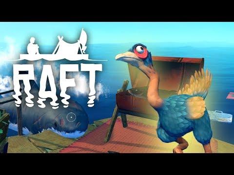 Mother Clucker - Raft: Domesticated Update - #10 (Raft Multiplayer Gameplay)