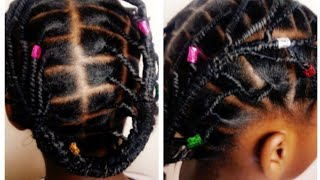 African Threading Hairstyles /protective Hairstyles For Kids /stretching Natural Hair Without Heat