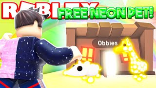 Free Legendary Pets In Roblox Adopt Me Minecraftvideos Tv