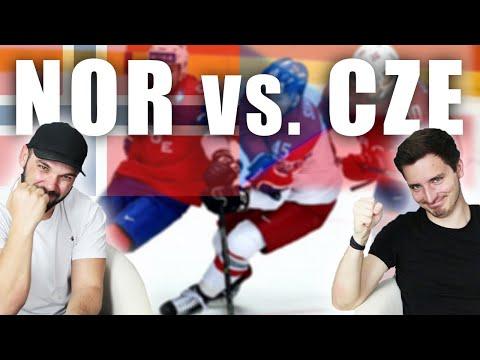 NORSKO - ČESKO | MS v hokeji 2019