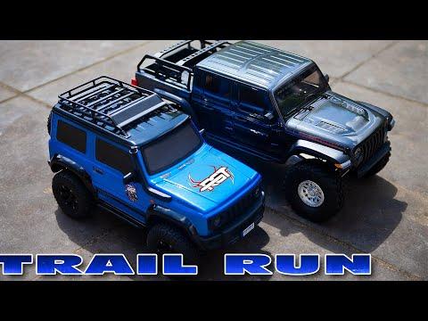 driving the RGT Rock Cruiser v3 (vs HG P402)