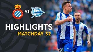Highlights RCD Espanyol vs Deportivo Alaves (2-1)