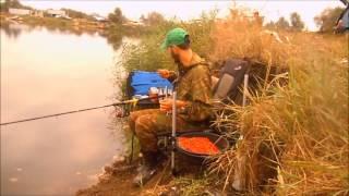 Рыбалка на черниковом пруду
