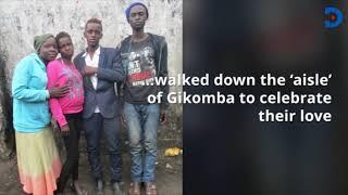 Street Lovebirds tie knot, spend honey moon on cold streets of Nairobi